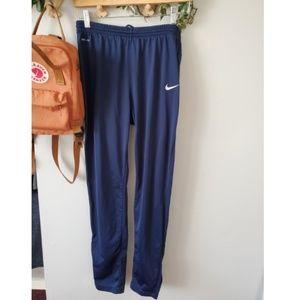 Womens nike track jogger pants navy blue M